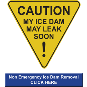 Non-Emergency Ice Dam Removal