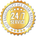 24/7 Service RTD Ice Dam Removal