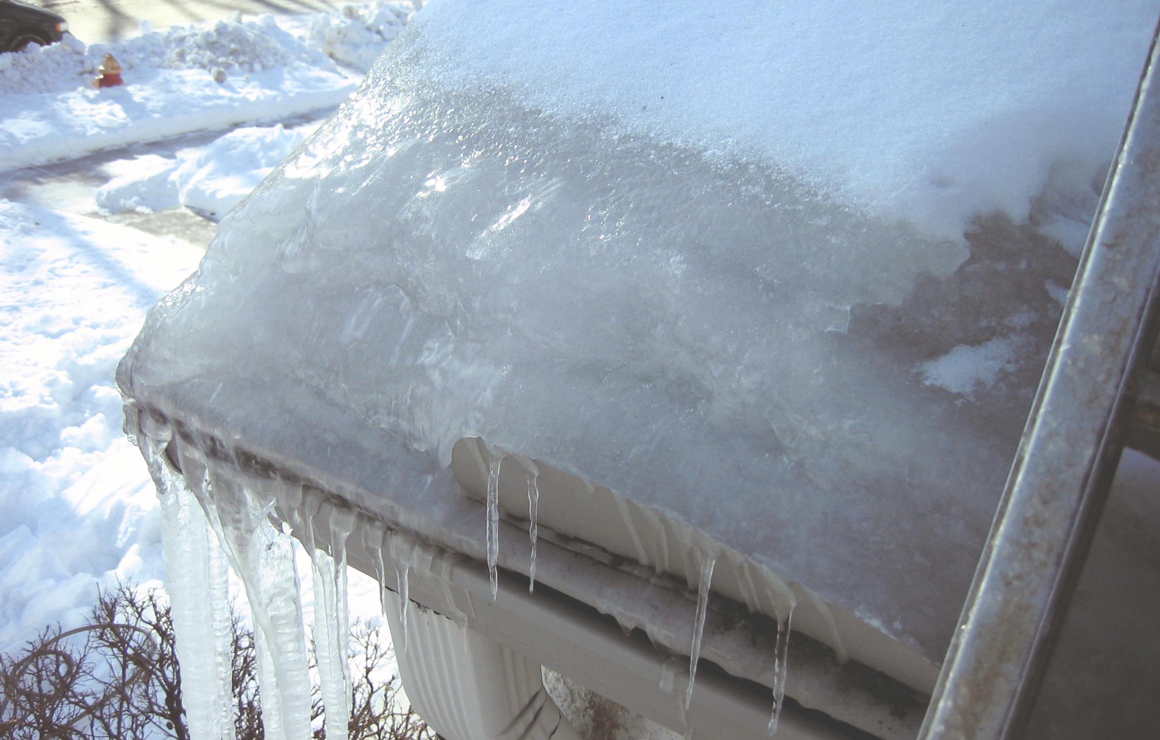Ice Damn RTD Ice Dam Removal
